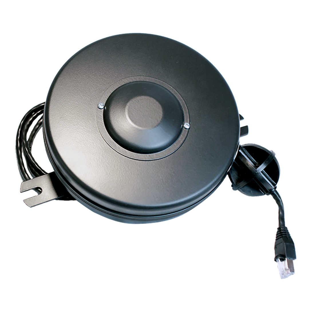 Cat5 15ft Retractable Data Cable Reel Stage Ninja