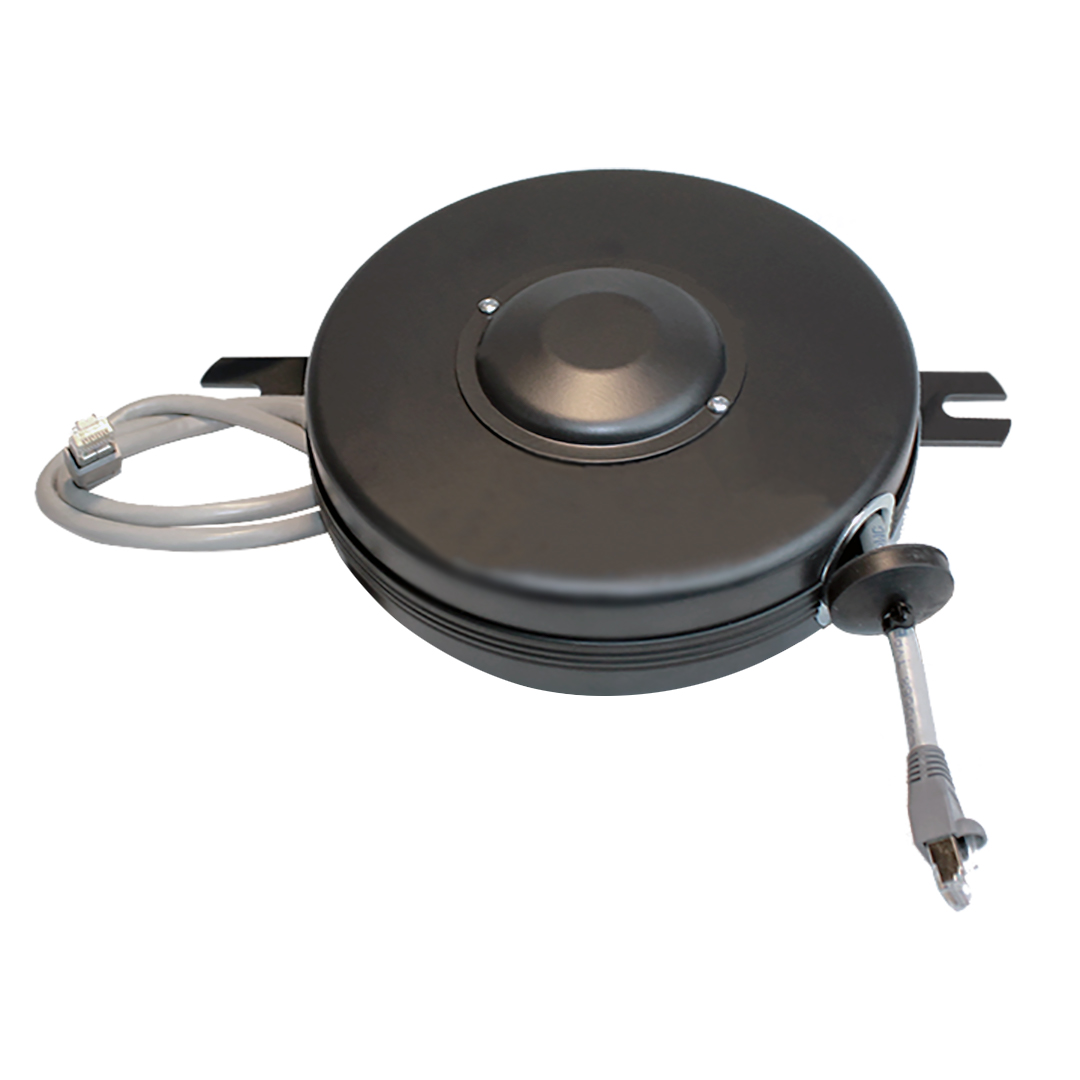 Cat6 15ft Retractable Data Cable Reel